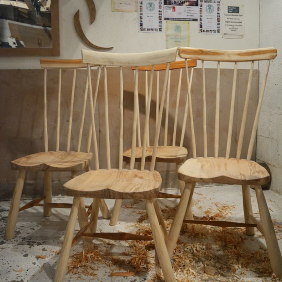 Make your own Wooden Chair Course by Ben Willis Woodcraft - crafts in London