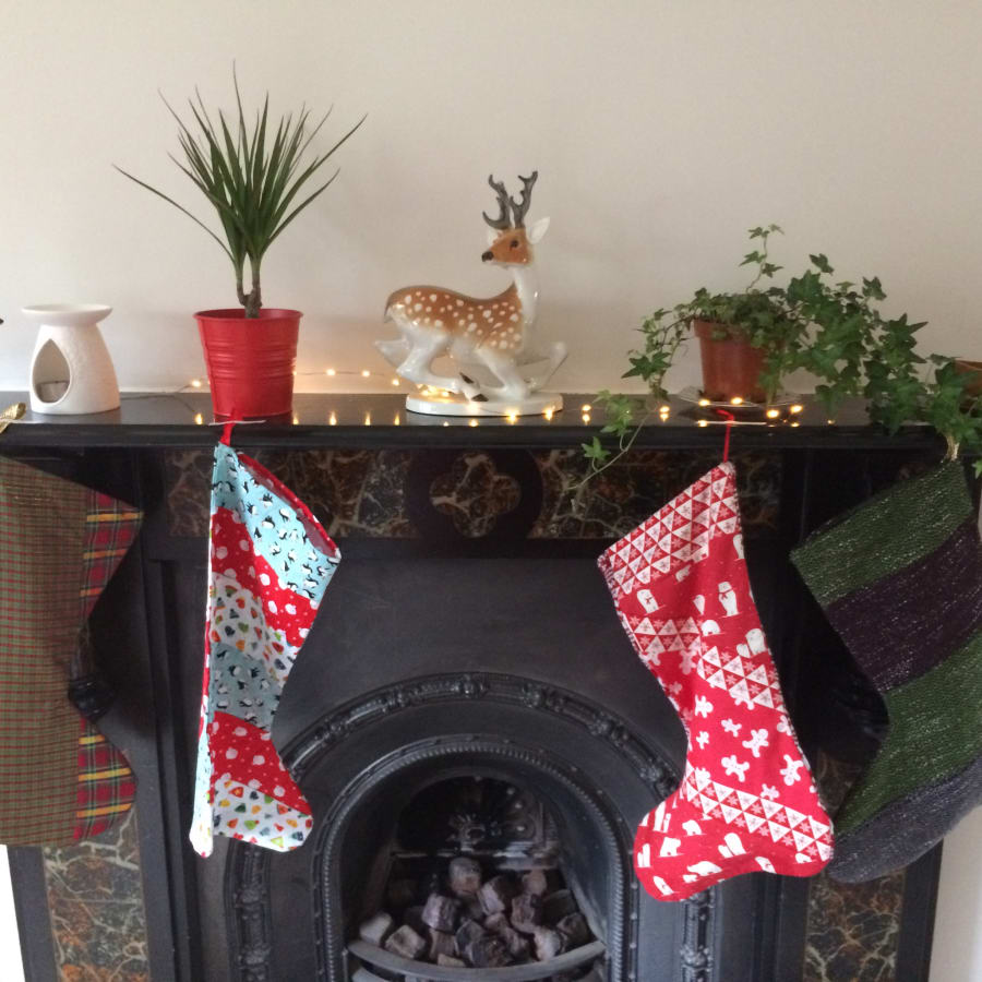Sew Your Own Christmas Stocking by Make Mee Studio - crafts in London