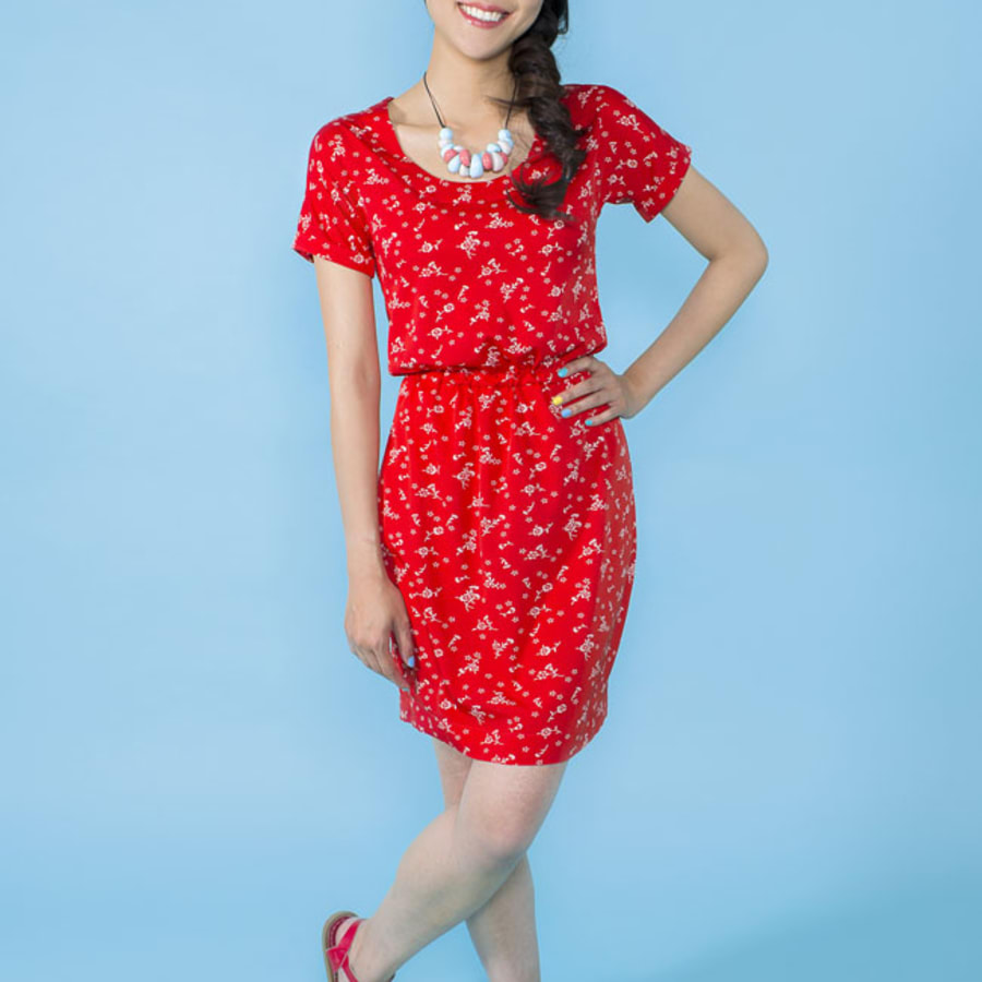 """Beginners Dressmaking: Make a """"Bettine"""" Dress by Fabrications - crafts in London"""