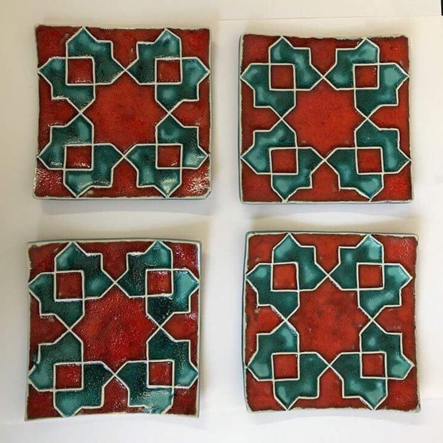 Make Your Own Ceramic Tiles With Geometric Pattern Obby