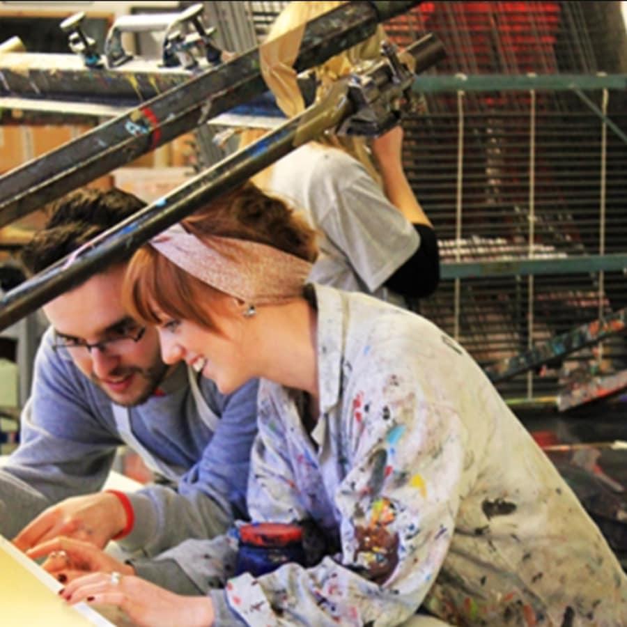 Beginners Screen Printing Fabric Workshop by Print Club London - art in London