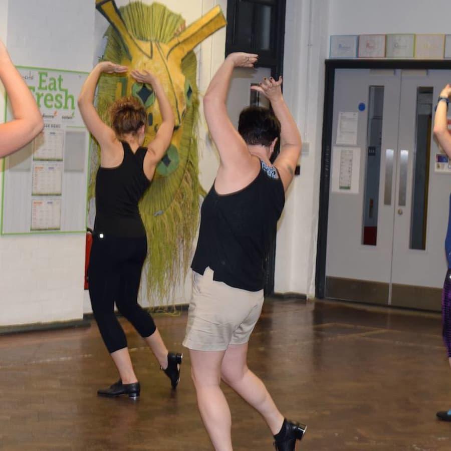 Intermediate Tap Dance by Angelina Jandolo Dance - dance in London