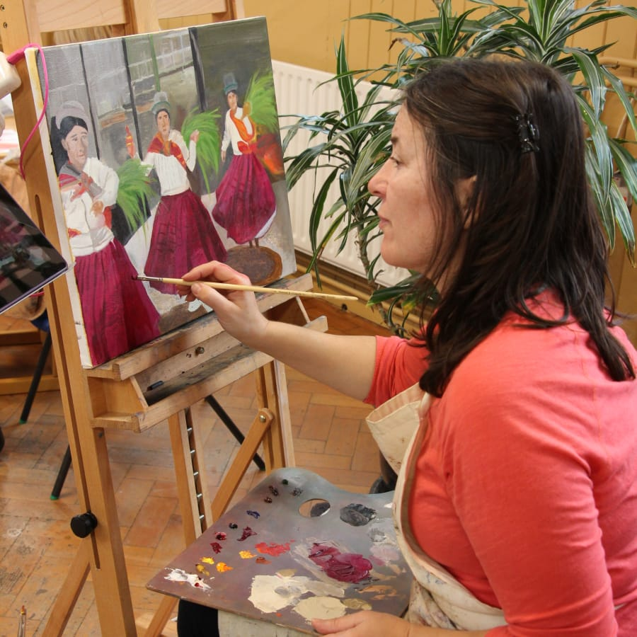 Oil Painting Course For Beginners Obby