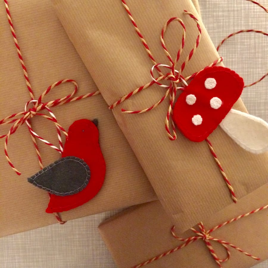 Make felt Christmas Decorations! by Suzie London - crafts in London