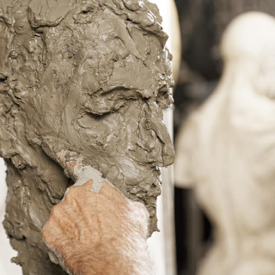 Clay Portrait From Life by Go Create - art in London