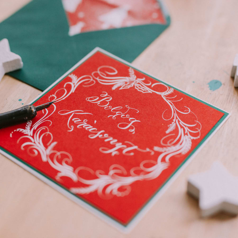 Christmas Calligraphy - Beginners Modern Calligraphy Workshop by Amalia Calligraphy - art in London
