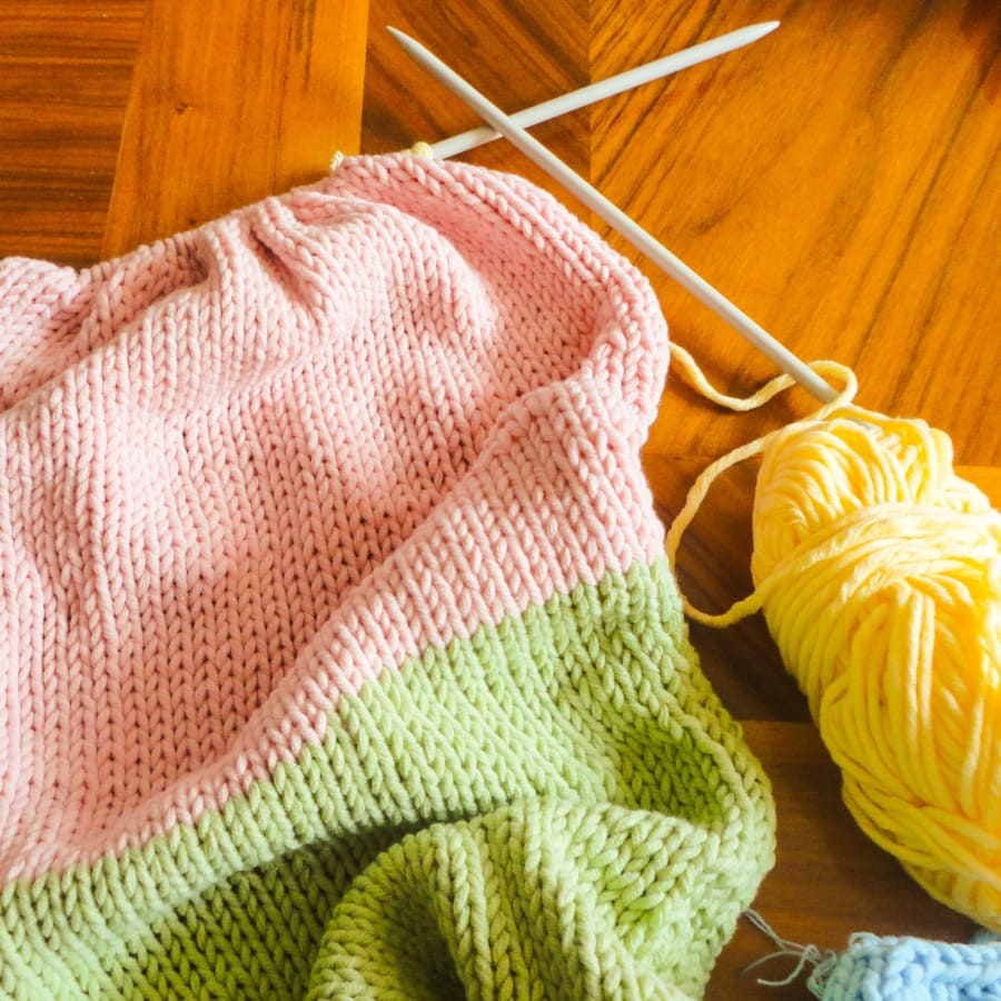 Beginners Knitting: Knit a Cowl or Snood by Tea & Crafting - crafts in London