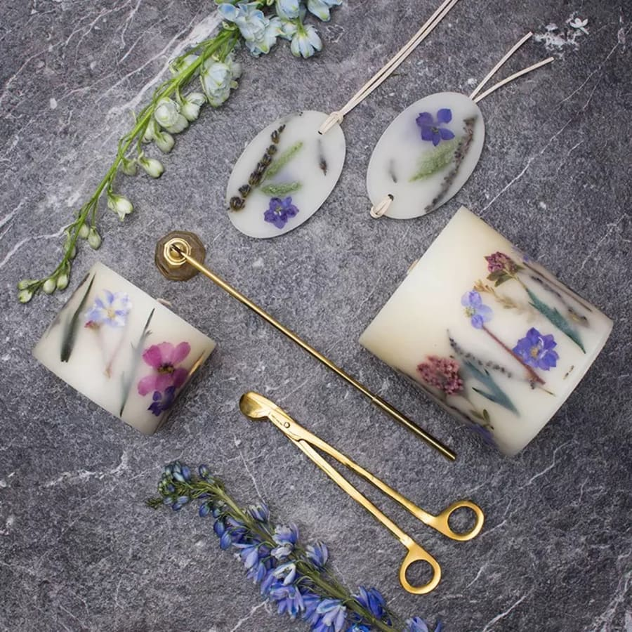 Aromatherapy Soy Candle with Crystal Workshop by Token Studio - crafts in London