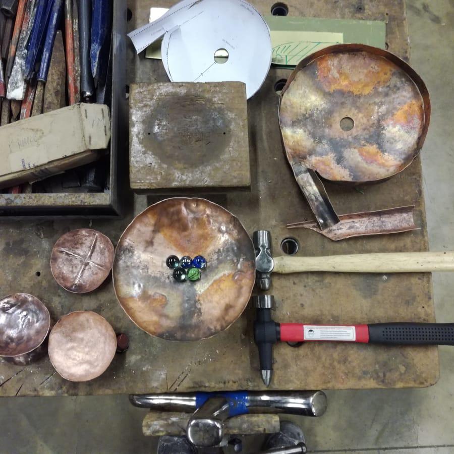 Sheet Copper Sculpture Course by London Sculpture Workshop - art in London
