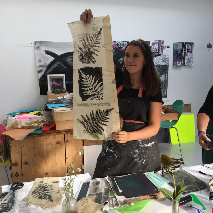 Gelli Printmaking Workshop by no5workshops - art in London