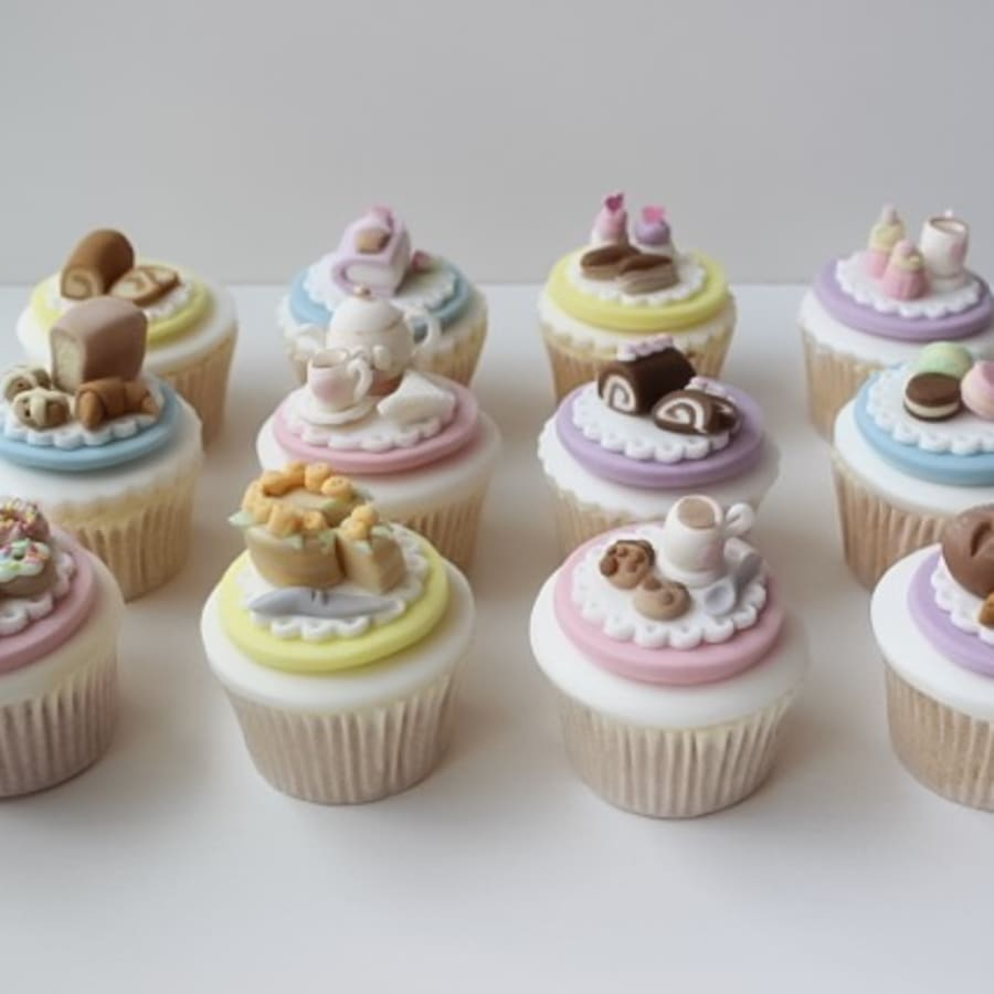 Afternoon Tea Cupcake Class by Lady Berry Cupcakes - food in London