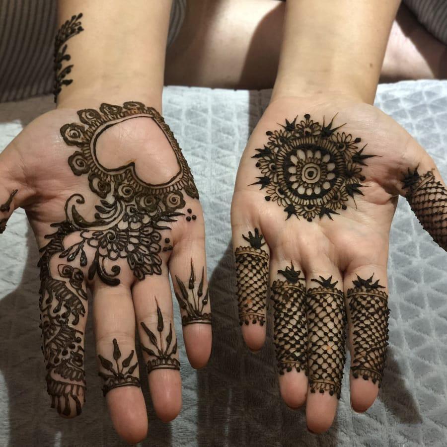 Temporary Henna Tattoo by Artful Soulful - art in London