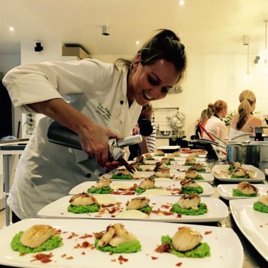 Filleting and Cooking Fish by The Avenue Cookery School - food in London