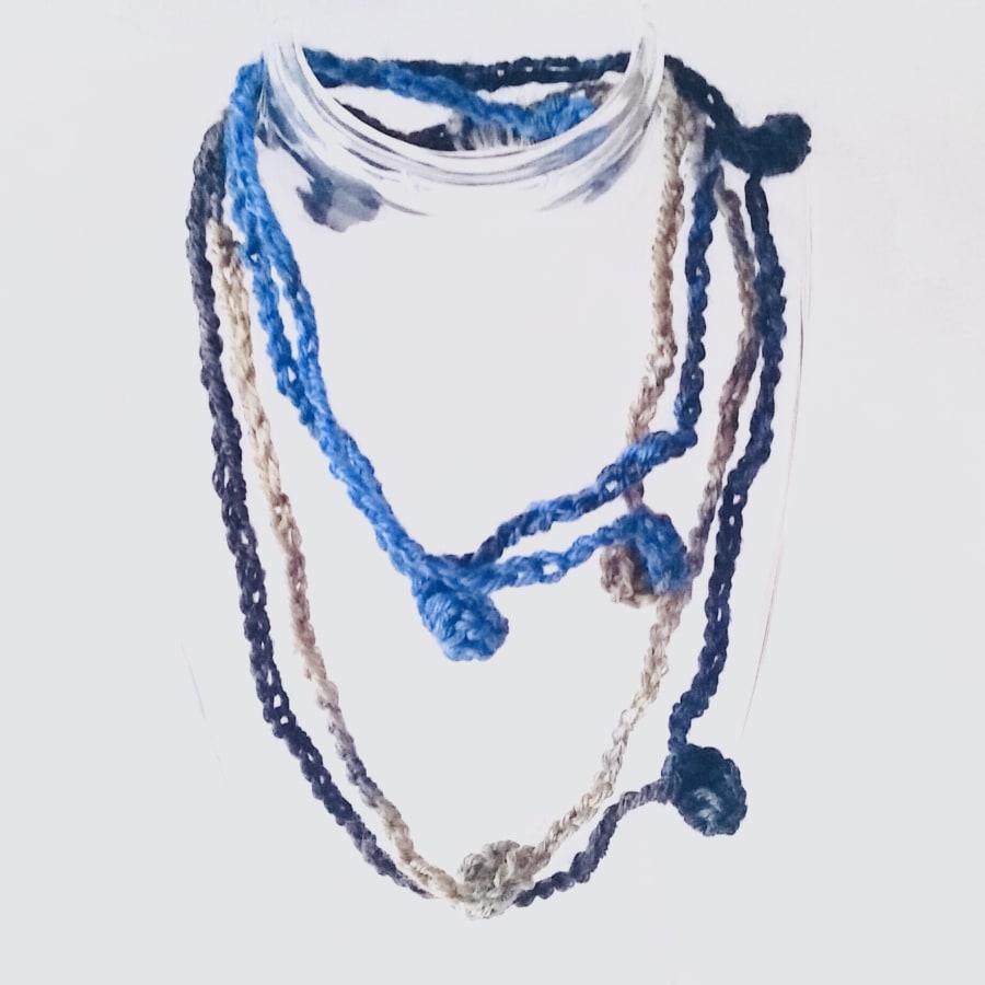 Knit / Crochet Jewellery Making Workshop by Deptford Does Art - crafts in London
