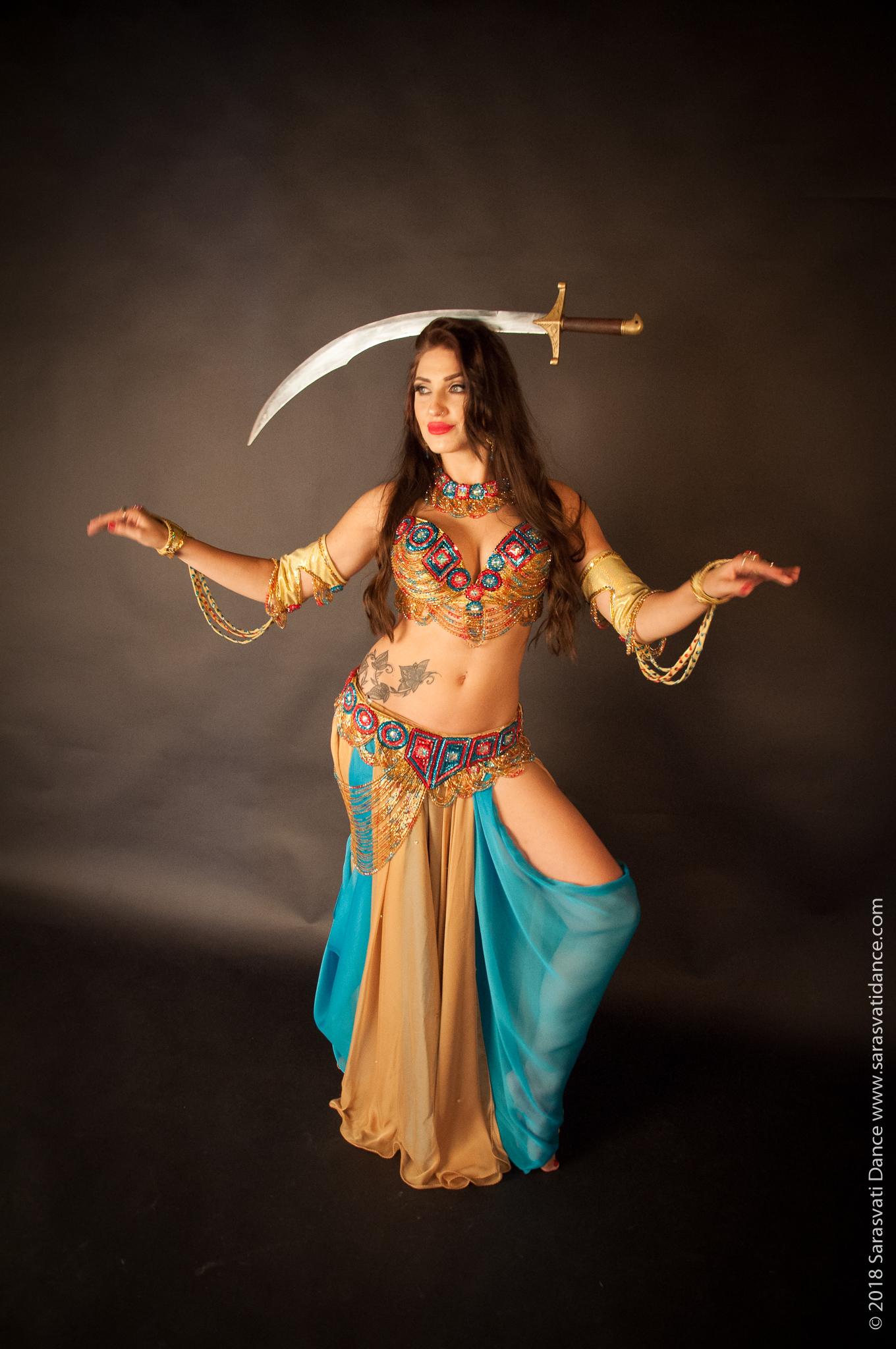 Belly Dance Golden Era Style Workshop  by Sarasvati Dance - dance in London