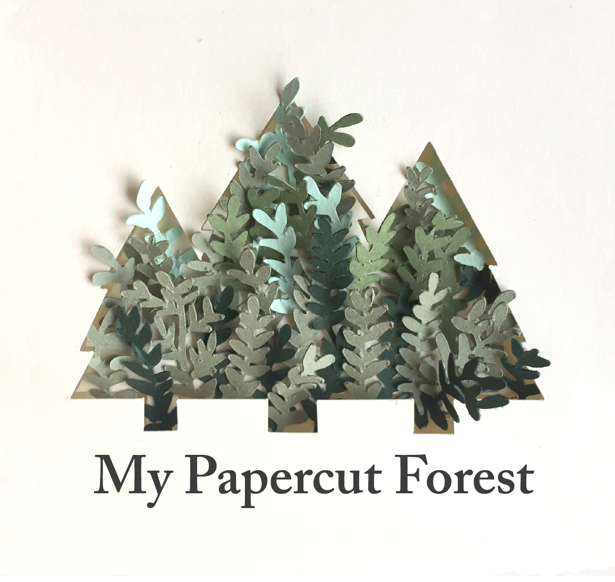 Paper Plant Workshop by Silvina De Vita - My Papercut Forest - crafts in London