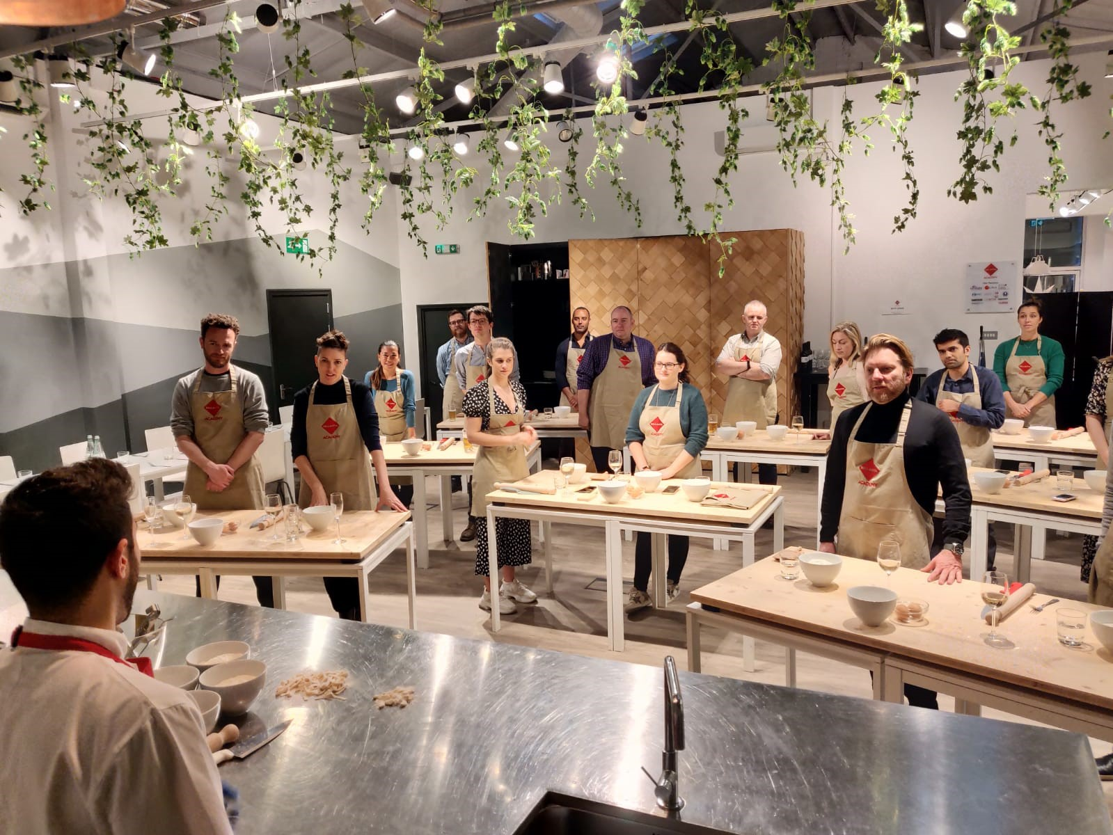 Pasta Making Masterclass With a Professional Italian Chef by Bellavita Academy - food in London