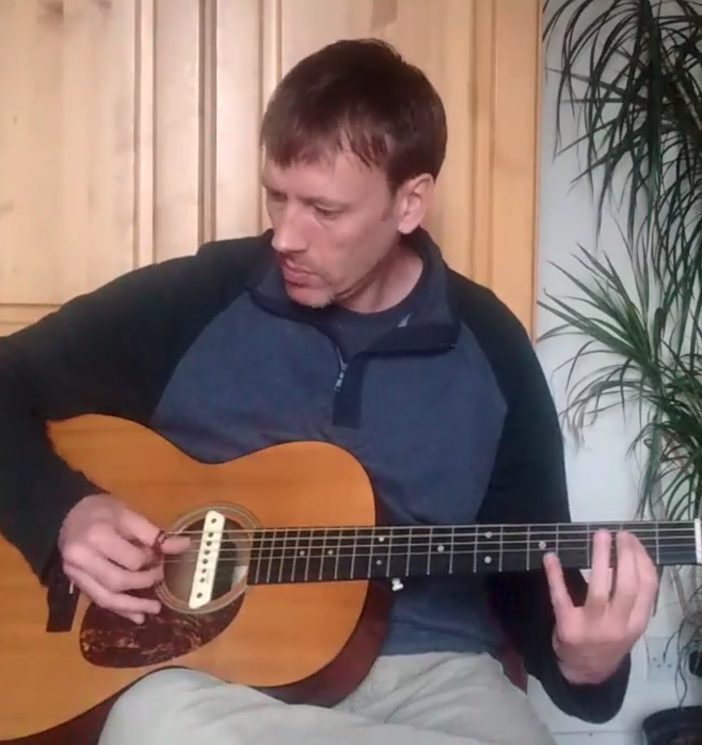 Beginners Guitar with Aaron Curtis by Pick Guitar - music in London
