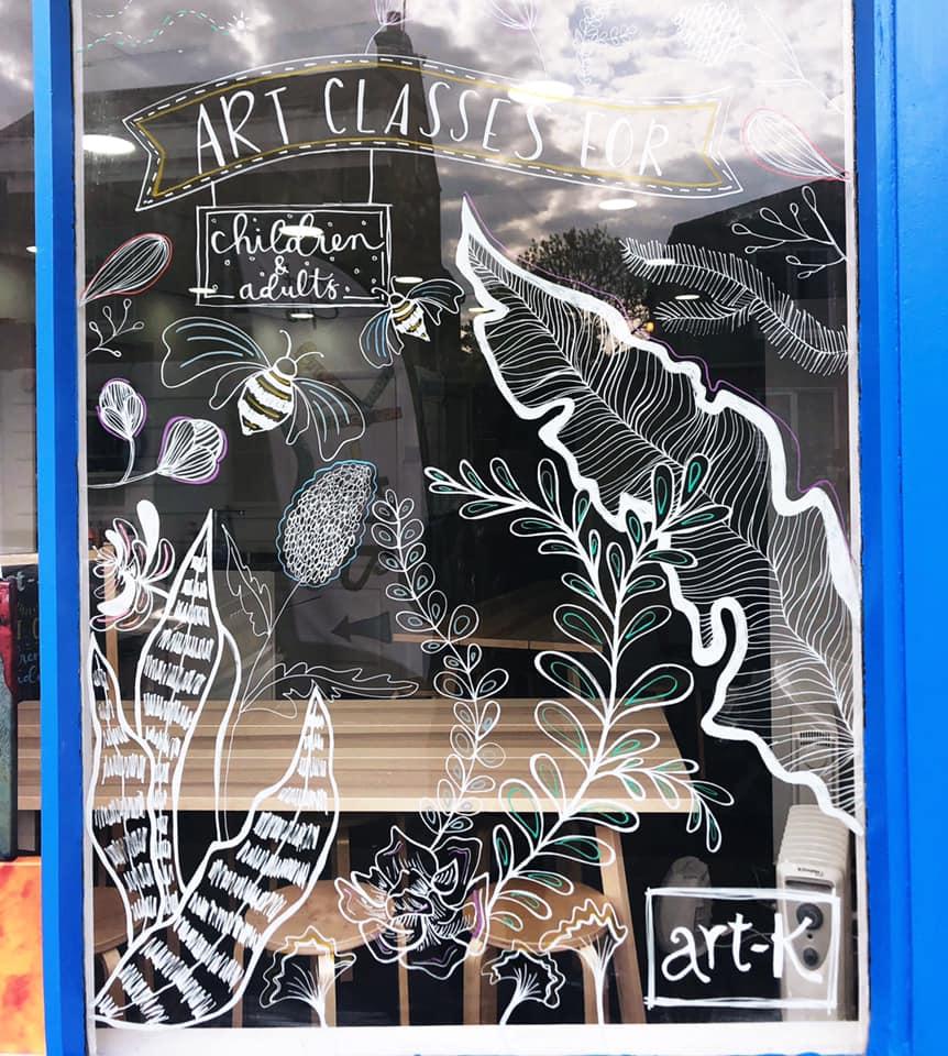 Weekly Art Classes by art-K Purley - art in London