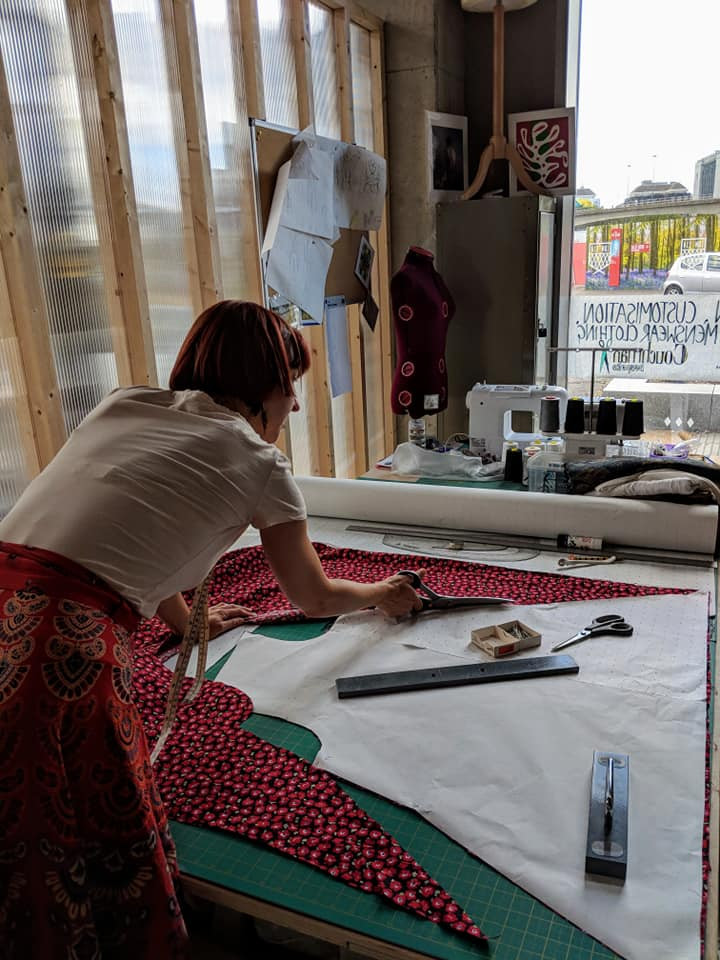 Learn to Pattern Make by Couchman Bespoke - crafts in London