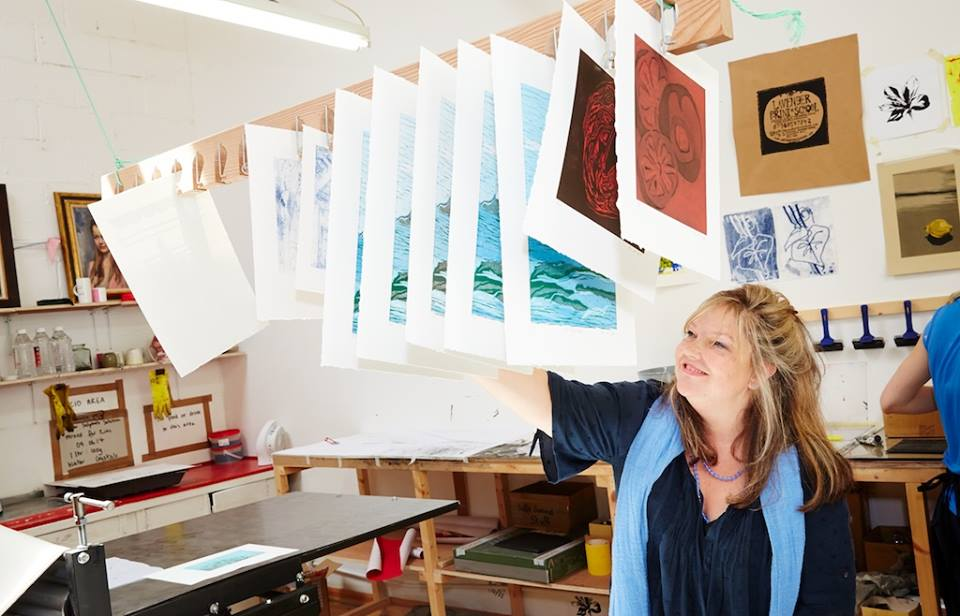Evening Printmaking Course: Basic to Intermediate (Inactive) by Lavender Print School - art in London