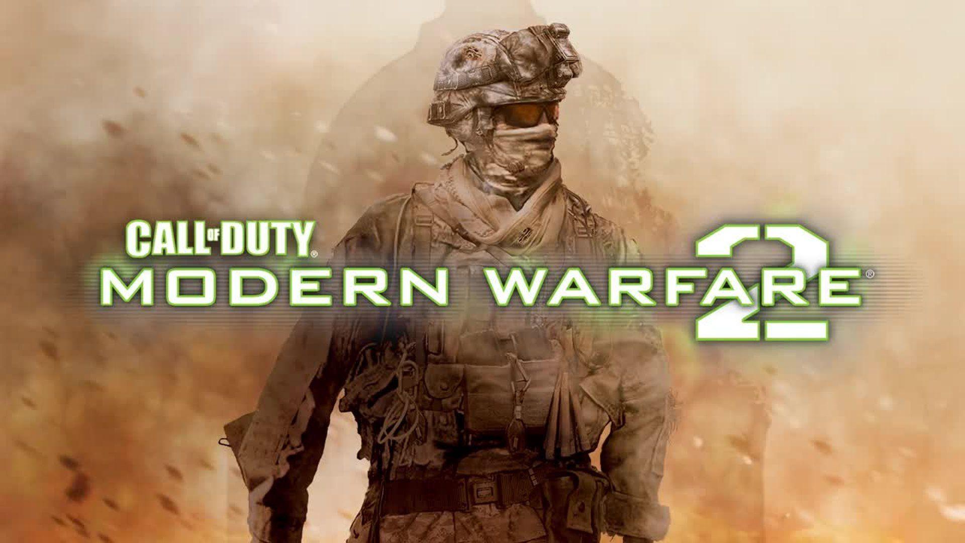 Call of Duty Modern Warfare 2 Title Screen