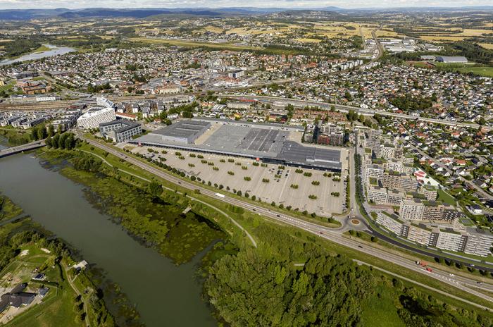 oversiktsbilde av Lillestrøm