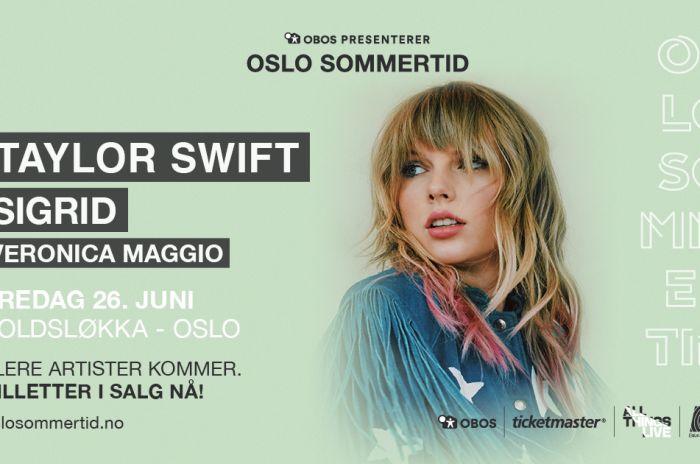 Portrett av Taylor Swift
