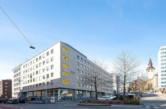 Hjørnet Møllergata og Hammersborg torg