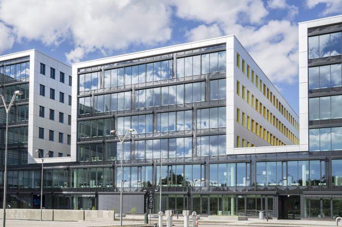 Arkitekturbilde av Oslo Cancer Cluster Innovasjonspark