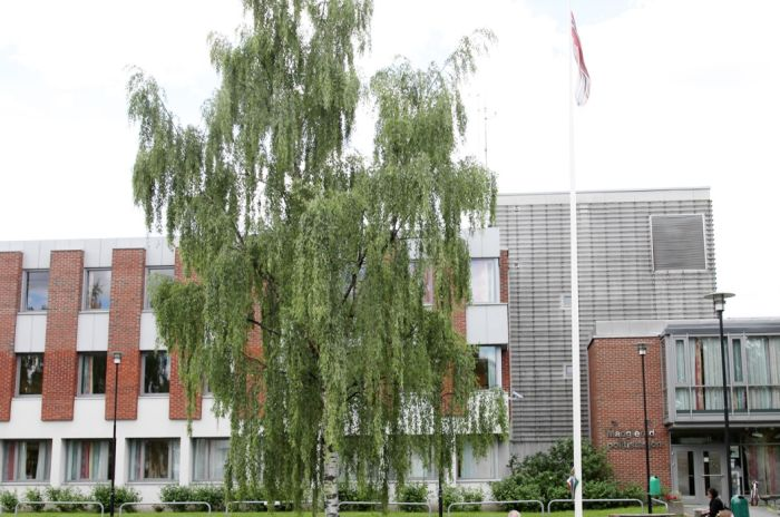 Bilde av fasaden på Plogveien 31