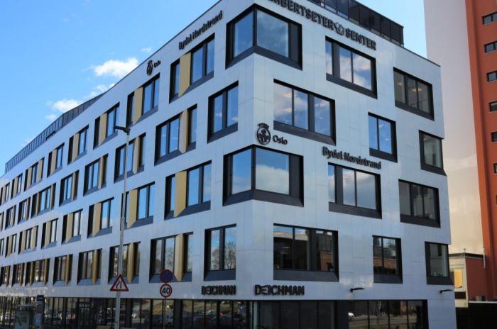 Bilde av Lambertseter bydelshus bygning