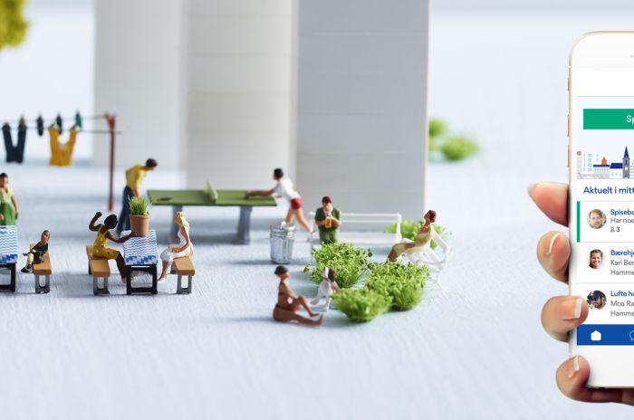 Artikkelen Hør om Nabohjelp på NRK
