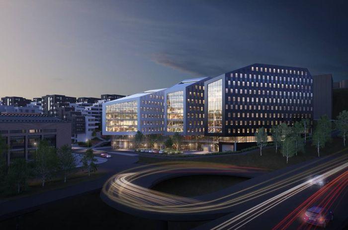 Bilde av Oslo K bygningene