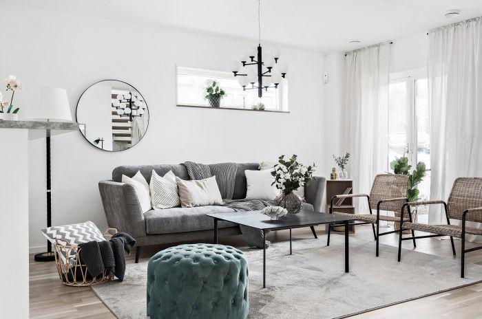 Interiör i ett typiskt hus i projektet Kv London i Växjö som OBOS bygger