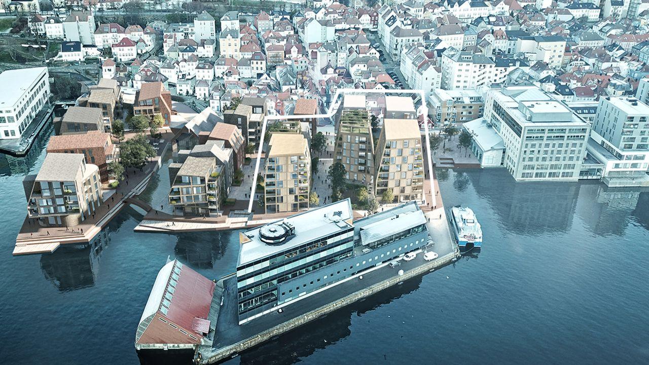 illustrasjonsbilde av Nøstegaten i Bergen