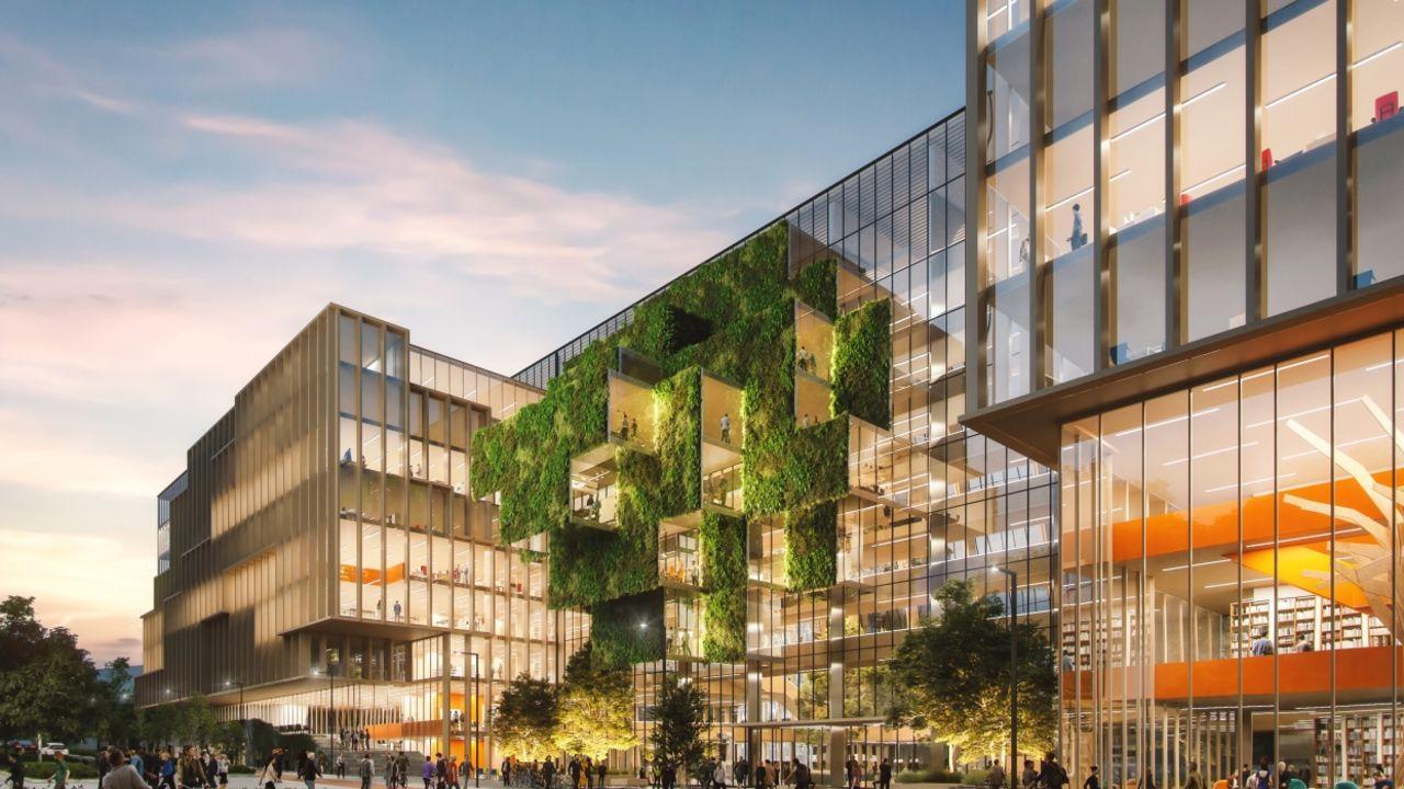 Bilde av Construction Citys fasade