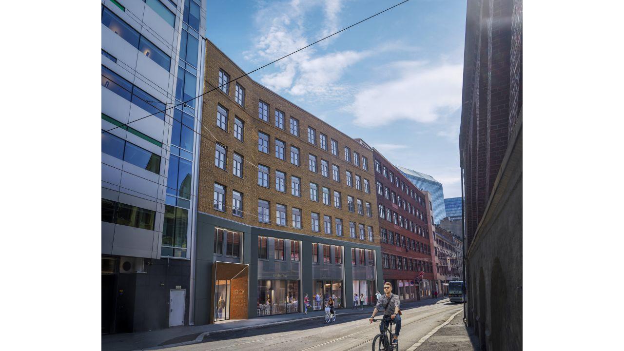 Bilde av bygningen utenfra
