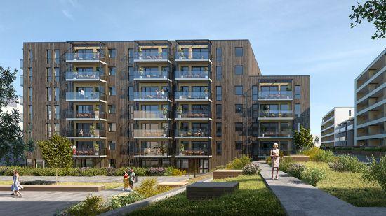 Salgstrinnside for Bygg I på Ladebyhagen