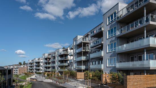 Salgstrinnside for Hus C, D, E, F, G og H på Rosenholm