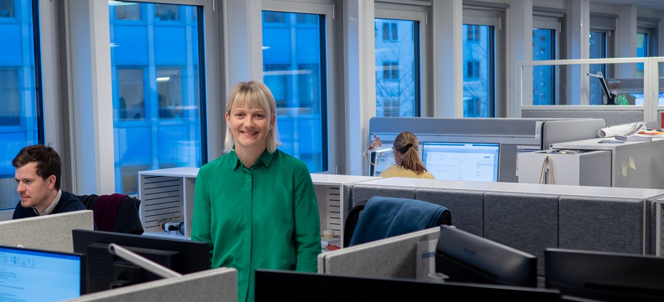 Konserndirektør digitale tjenester Cathrine Wolf Lund