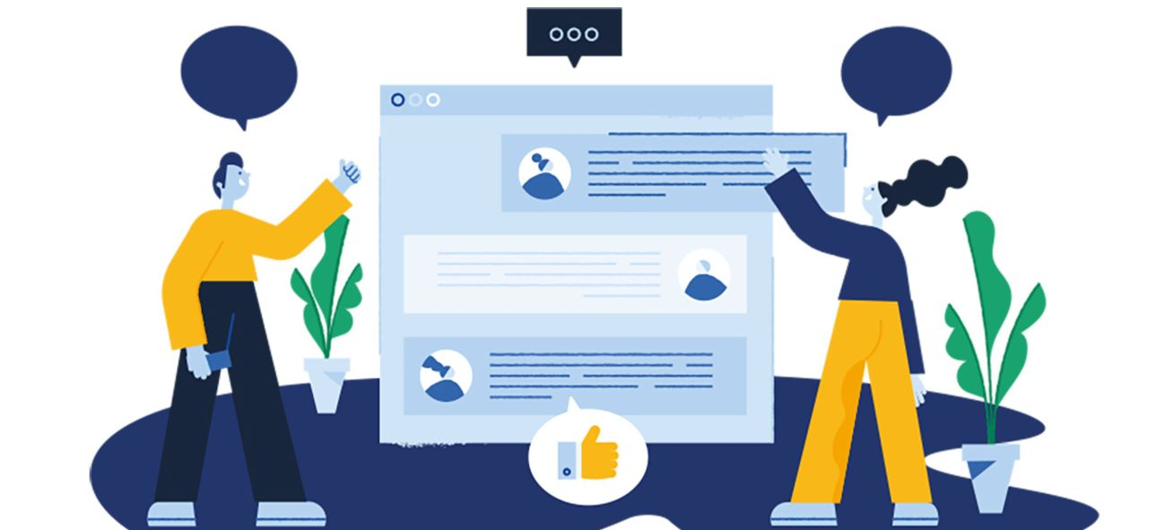 Illustrasjon som viser digitale forberedelser til årstmøte