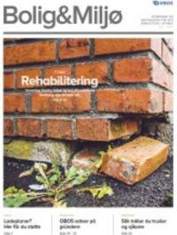 Forsiden av Bolig & Miljø nr. 6 2017