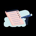 illustrasjon av sjekkliste