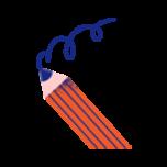 illustrasjon av blyant