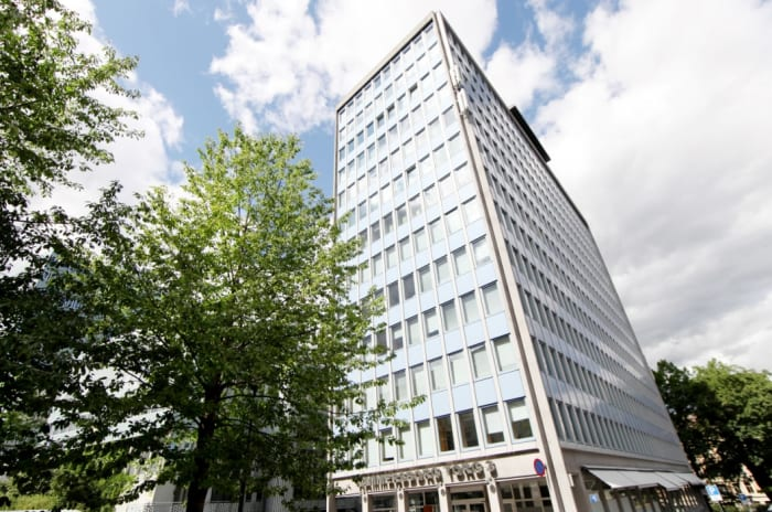 Bilde av Hammersborg Torg 3, kontorlokale i høyhus på 13 etasjer
