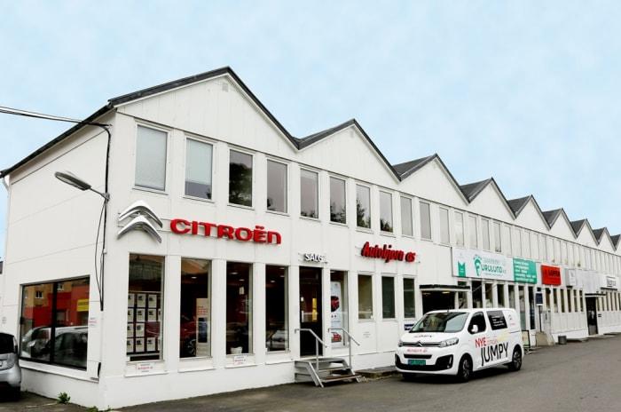 Bilde av fasaden på Cecilie Thoresens vei 5-7