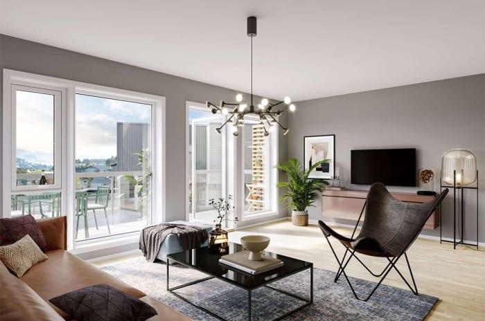 Artikkel om boligene på Brattås
