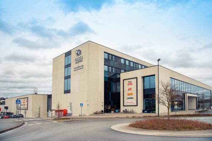 Bilde av Tasta Senter bygning