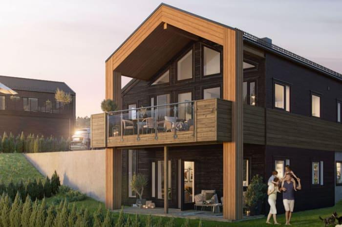 Artikkel om at OBOS Block Watne bygger energieffektive boliger